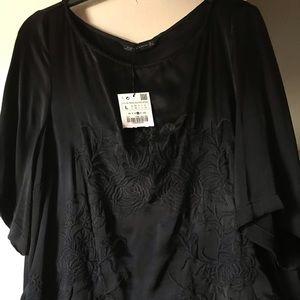 Zara black top- Large